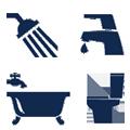 Spar vand badeværelse